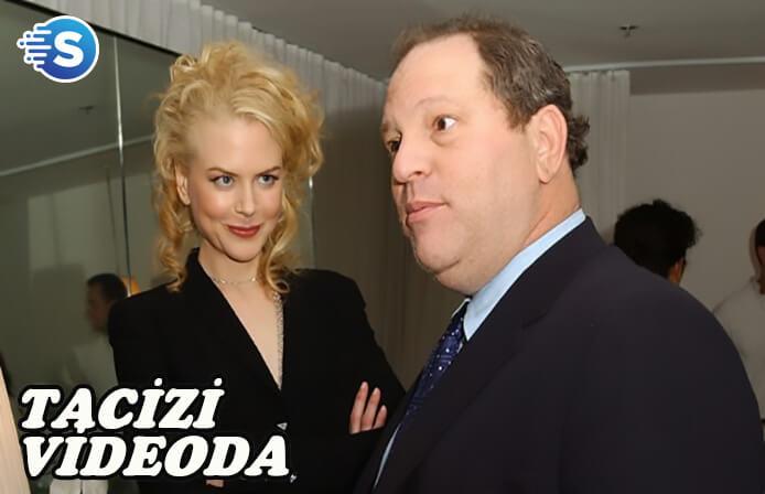 Harvey Weinstein'in tacizine video'lu kanıt