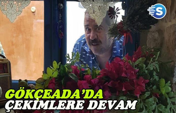 Ata Demirer 'Hedefim Sensin' çekimlerinde Ada halkı ile kaynaştı