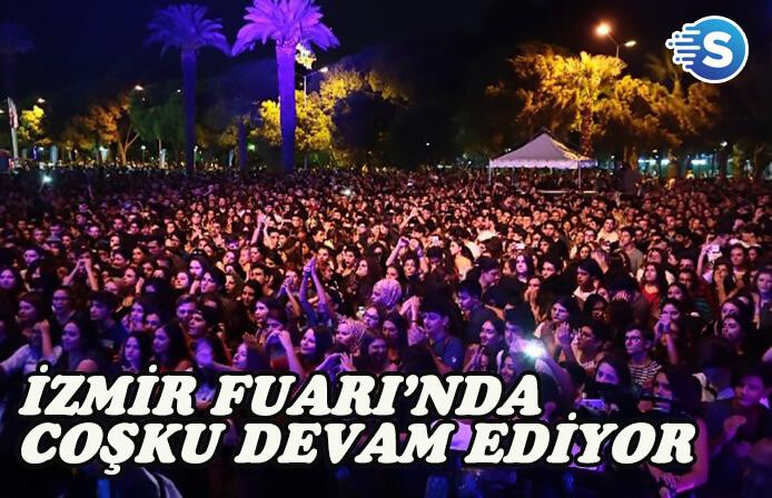 İzmir Enternasyonal Fuarı'nda etkinlikler devam ediyor