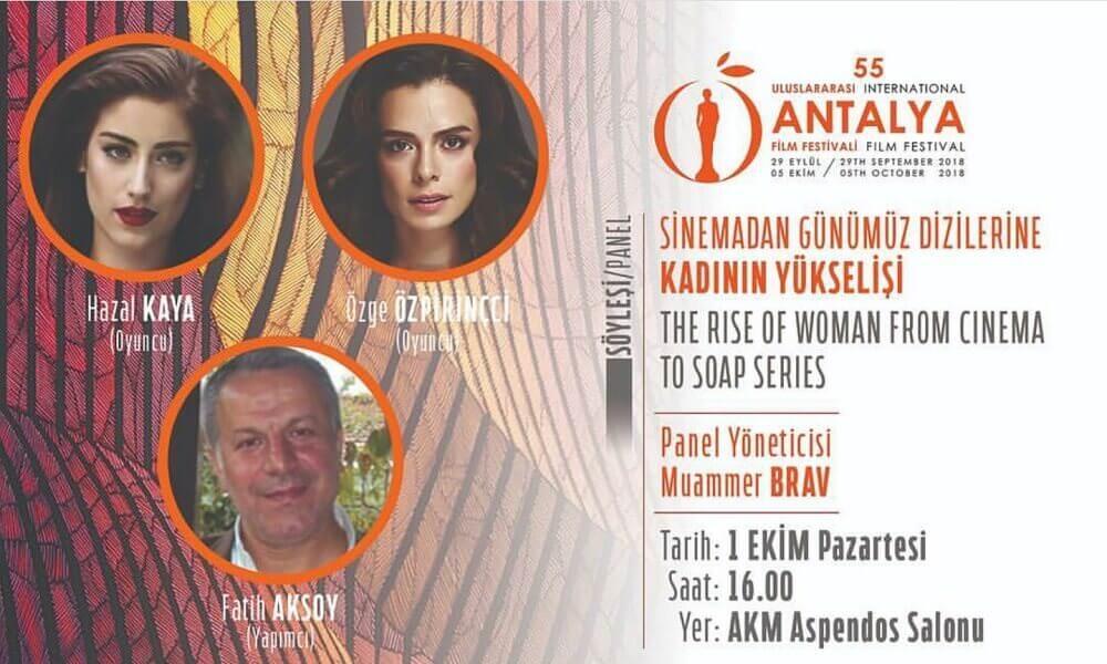 Özge Özpirinçci ve Hazal Kaya 'Kadınların Yükselişi' panelinde konuşacak