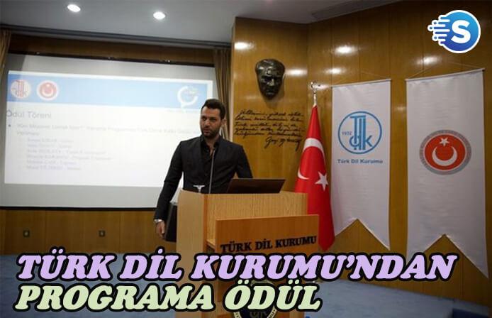 Türk Dil Kurumu, Kim Milyoner Olmak İster'e ödül verdi