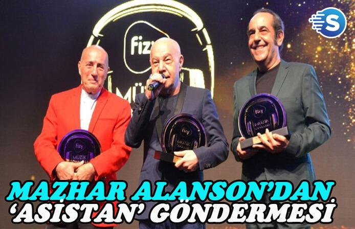 Mazhar Alanson'dan 'asistan' göndermesi