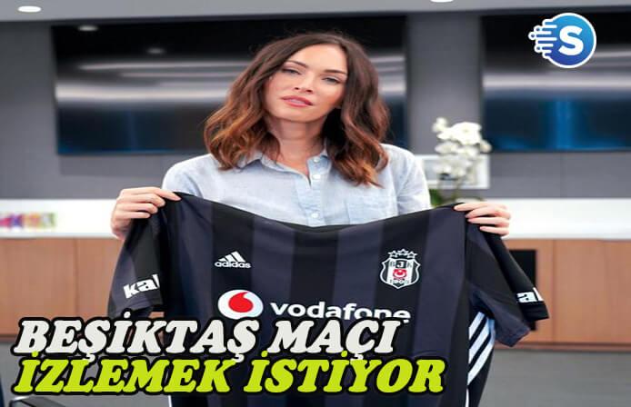 Megan Fox'dan 'Beşiktaş' mesajı