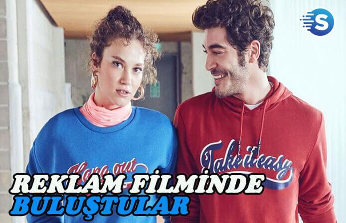 Burak Deniz ve Melisa Şenolsun aynı reklam filminde!