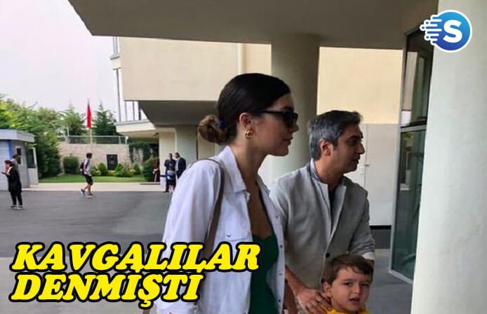 Ayrılacakları konuşulan Necati Şaşmaz eşi ile birlikte göründü