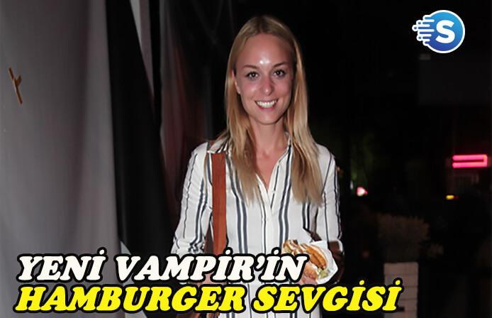 Vampirlerde hamburger yer