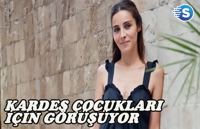 Nur Fettahoğlu, Kardeş Çocukları dizisi ile görüşüyor