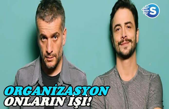 Ahmet Kural ve Murat Cemcir'in yeni dizisi geliyor: 'Organizasyon Bizim İşimiz'