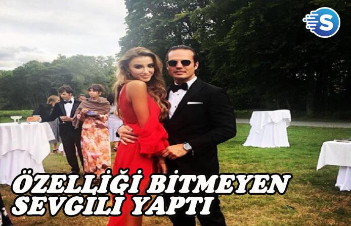 Özge Ulusoy'un yeni sevgilisi kıskandırdı