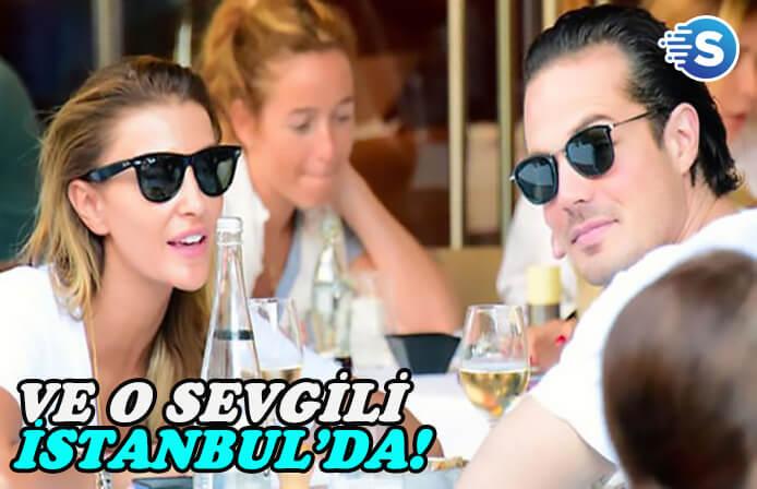 Özge Ulusoy'un kıskandıran sevgilisi Joaquim Lundholm İstanbul'da!