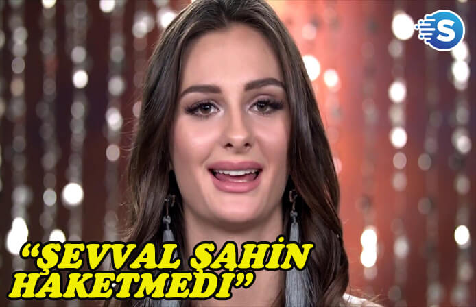 Miss Turkey 2017'nin 2'ncisi Pınar Tartan, Şevval Şahin için birinci olamazdı dedi