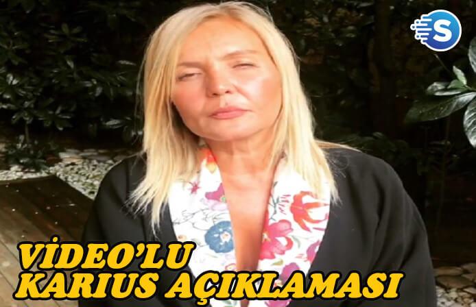 Seda Akgül'den video'lu 'Karius' açıklaması