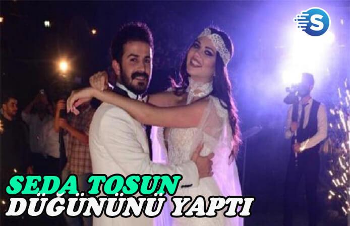 Seda Tosun kır düğünü ile evlendi