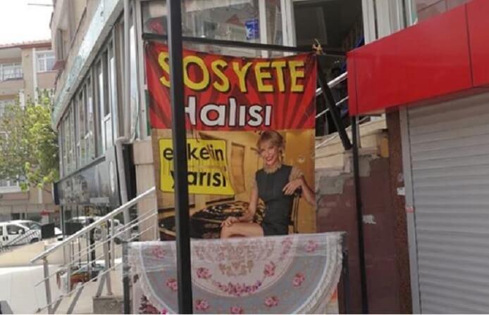 Jet 'Sosyete' halısı reklamı