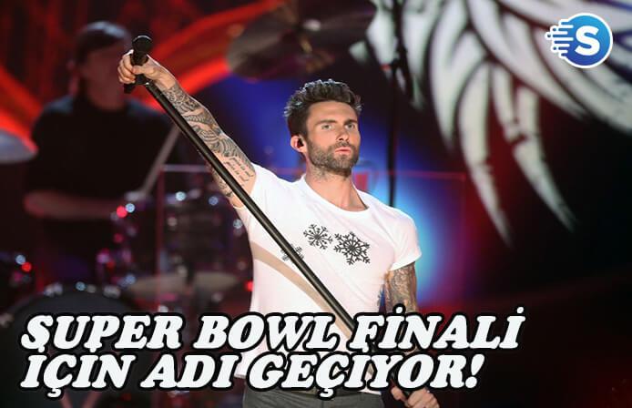 Super Bowl finali için Maroon 5'in adı geçiyor