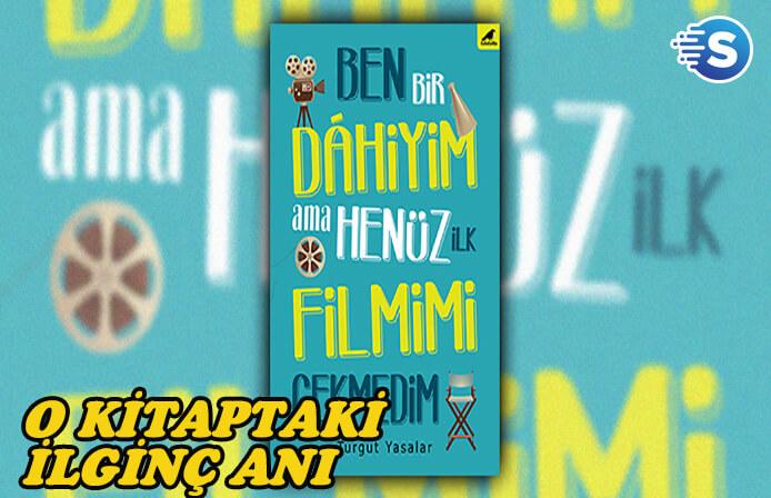 Yönetmen Turgut Yasalar'ın kitabından Serdar Akar anısı