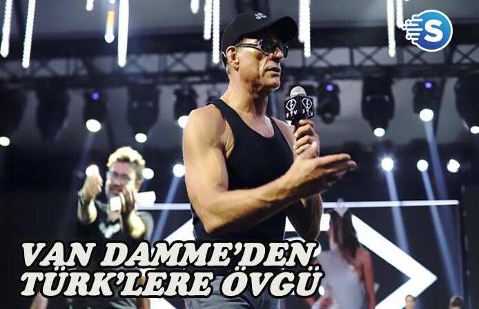 Van Damme'den Türklere övgü