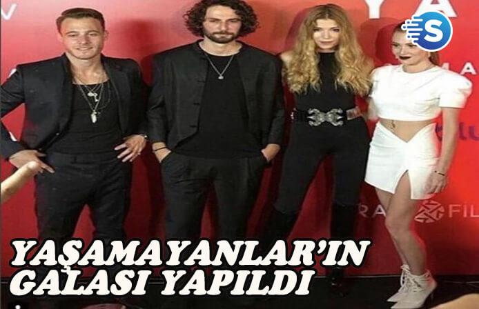 İlk Türk vampir dizisi Yaşamayanlar'ın galası yapıldı