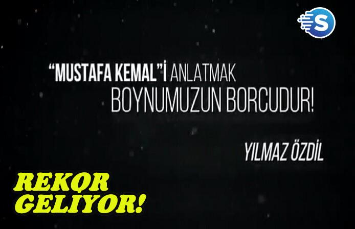 Mustafa Kemal kitabı rekor sayıda basılacak