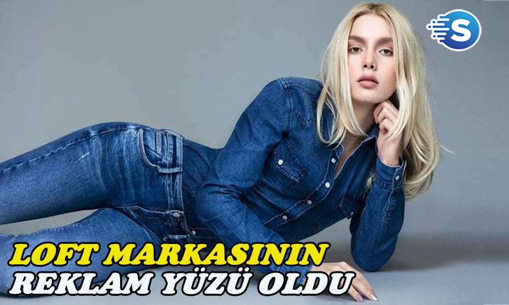 Aleyna Tilki, Loft'un reklam yüzü oldu