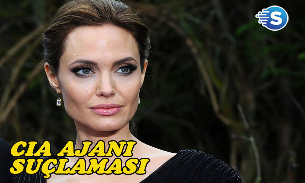Angelina Jolie, CIA ajanı olmakla suçlandı