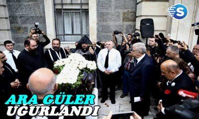 Ara Güler, gözyaşları içinde toprağa verildi