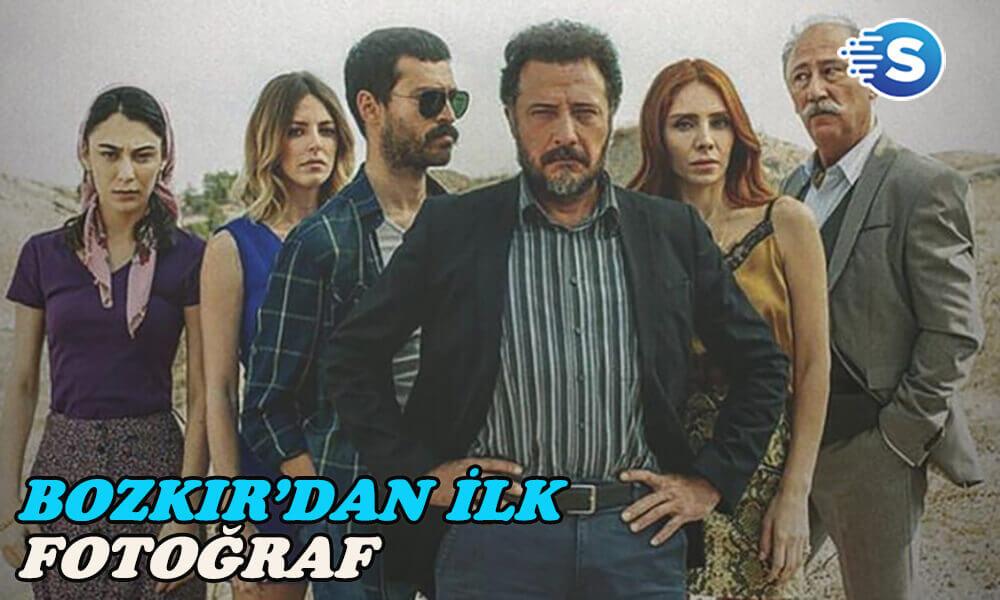 Bozkır dizisinin ilk afişi yayınlandı