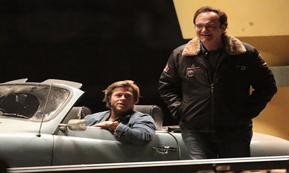 Brad Pitt, Bir zamanlar Hollywood setinde