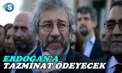 Can Dündar, Erdoğan'a tazminat ödeyecek!