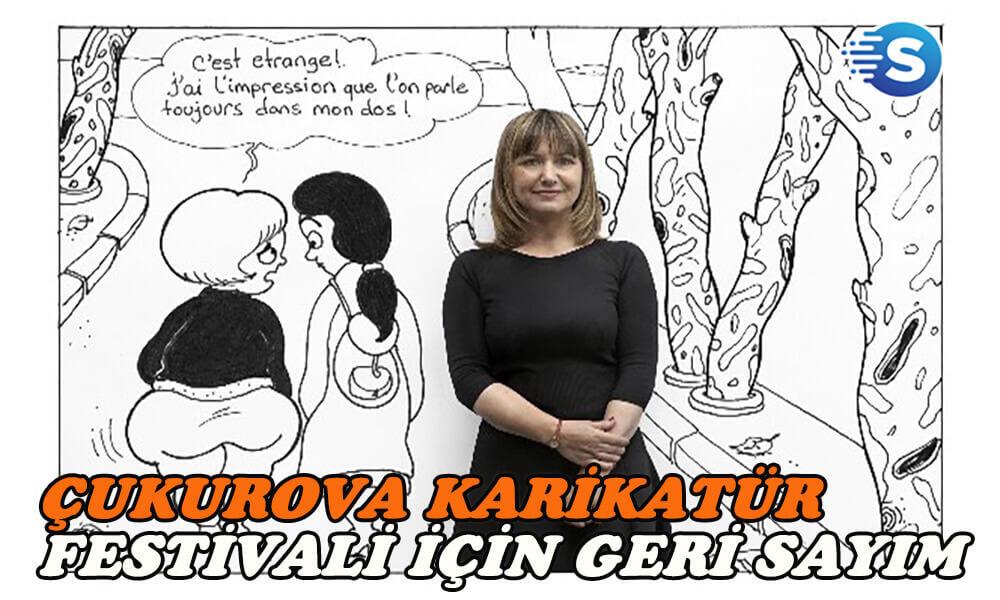 Çukurova Karikatür Festivali için geri sayım başladı