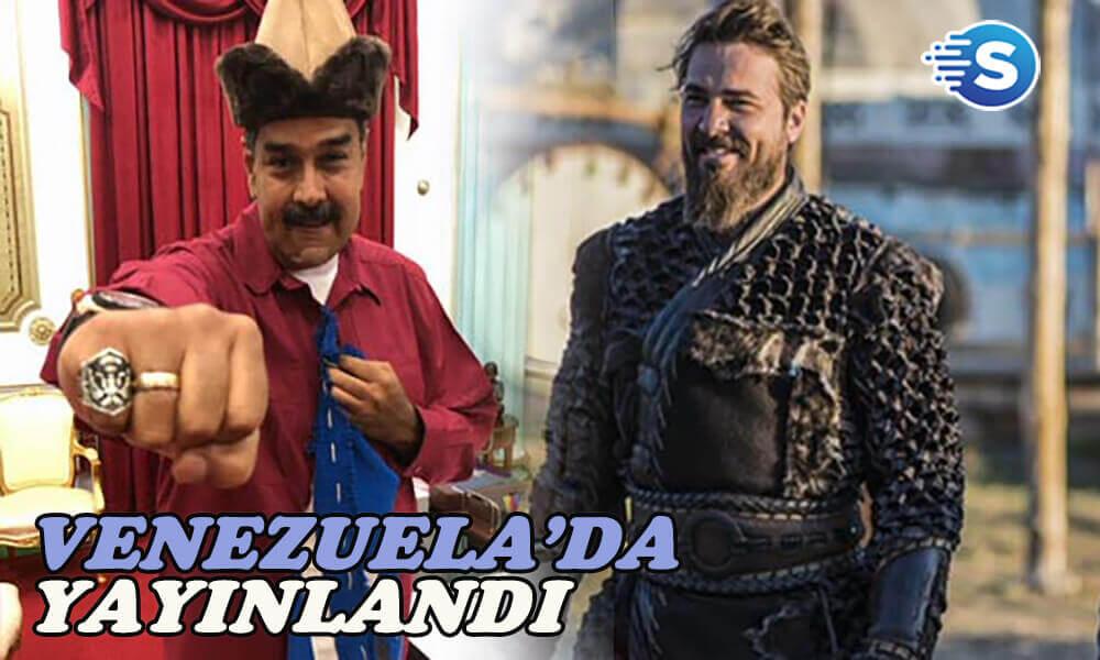 Diriliş Ertuğrul, Venezuela'da yayınlanmaya başladı