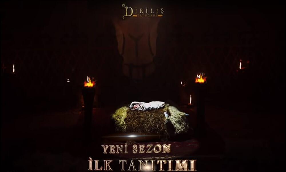 Diriliş Ertuğrul'un 5.sezonun ilk tanıtımı bu akşam yayınlanacak!