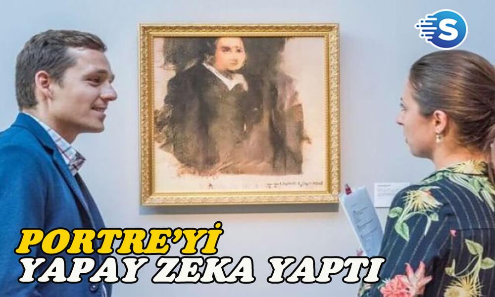 Yapay Zeka'nın yaptığı Edmond Belamy Portresi, 2,4 milyona satıldı