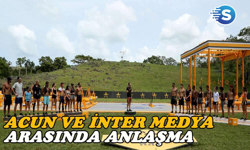 Acun ve Inter Medya arasında güçlü ortaklık