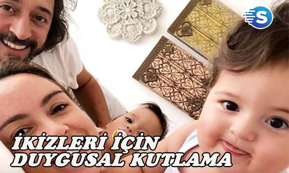Fettah Can'dan ikizlerine duygusal kutlama