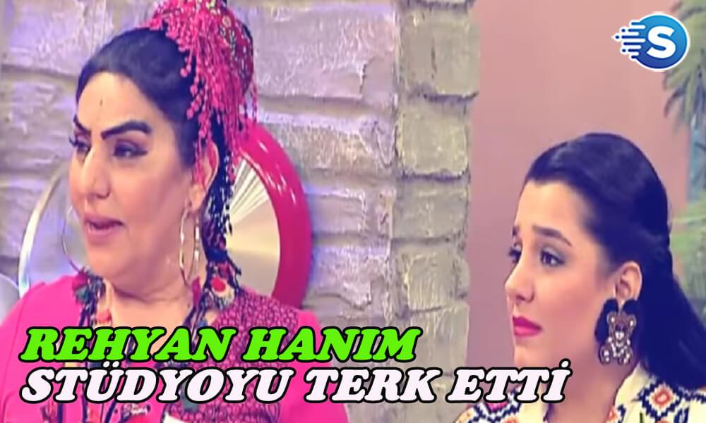 Reyhan Hanım, Başak'a sinirlendi stüdyoyu terk etti