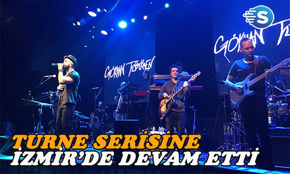 Gökhan Türkmen turnesine İzmir'de devam etti