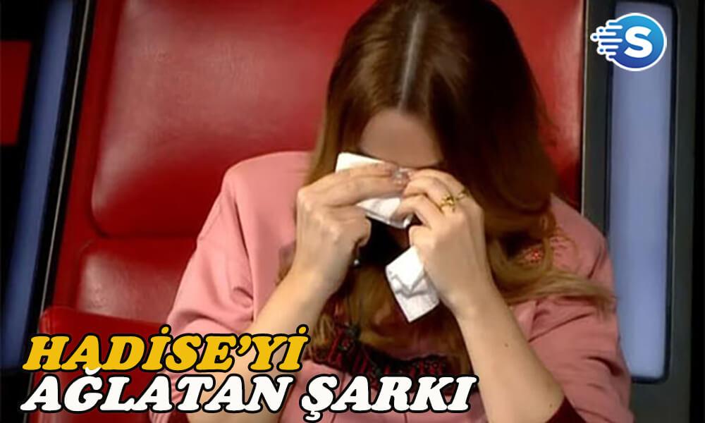 Hadise'yi ağlatan şarkı