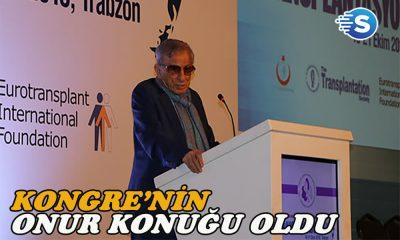 Haldun Dormen, kongre'nin 'Onur' konuğu oldu