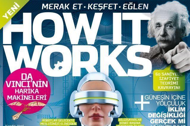 How It Works dergisi Türkiye'de de çıkıyor!