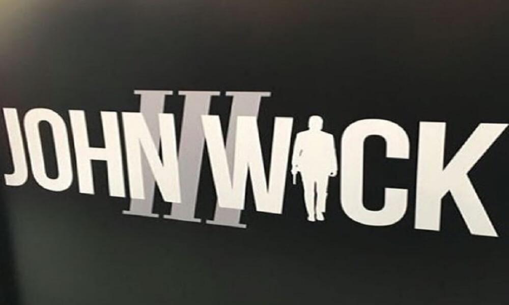 John Wick 3'ün logosu görücüye çıktı