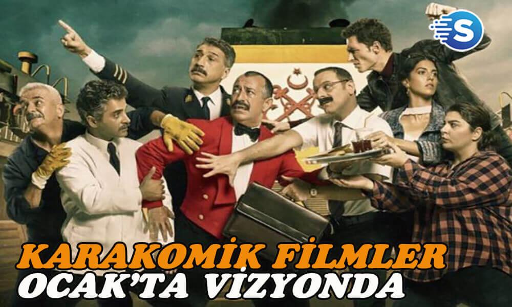 Karakomik Filmler: Kaçamak ve 2 Arada filmleri Ocak'ta vizyonda!