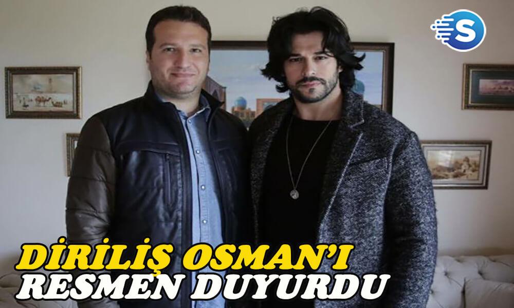 Mehmet Bozdağ, Diriliş Osman dizisini resmen duyurdu