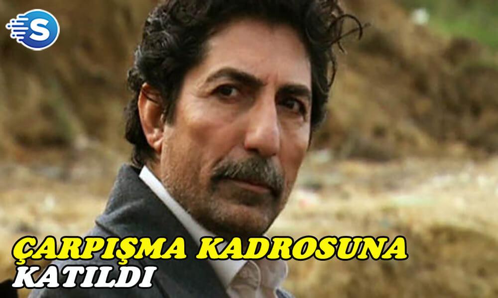 Mustafa Uğurlu, Çarpışma dizisinin oyuncu kadrosuna katıldı