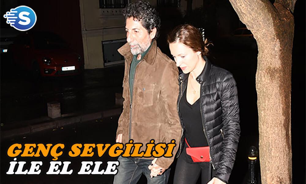 Mustafa Uğurlu sevgilisiyle görüntülendi