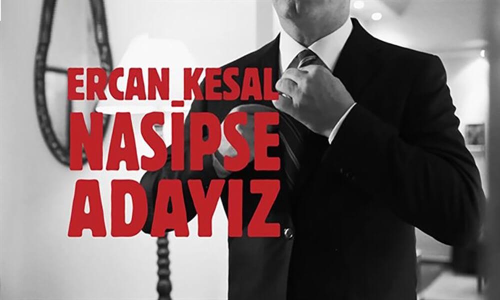 Ercan Kesal, kitabını sinemaya uyarladı, eşi ile birlikte rol aldı