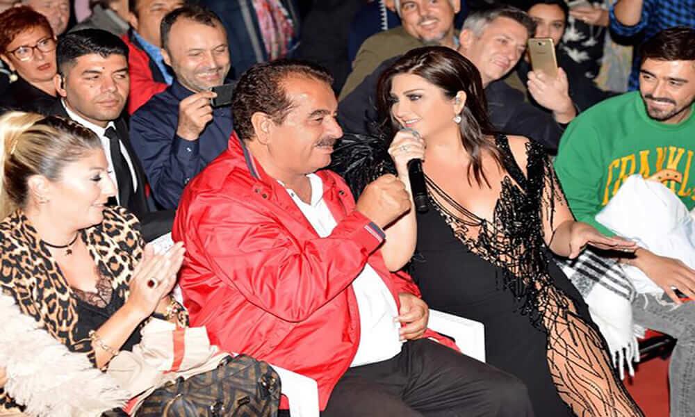 Sibel Can konserinde İbrahim Tatlıses'in albümü duyuruldu