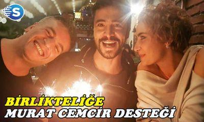 Sıla ve Ahmet Kural aşkına Murat Cemcir desteği