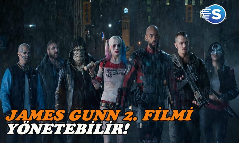 Suicide Squad 2'ın senaryosunu James Gunn yazıyor!