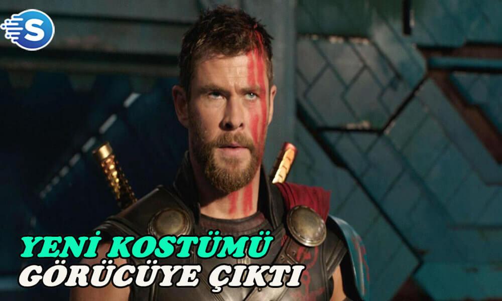 Thor'un Avengers 4'de ki kostümü görücüye çıktı